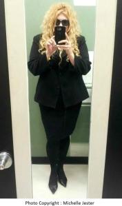 Michelle Jester suit