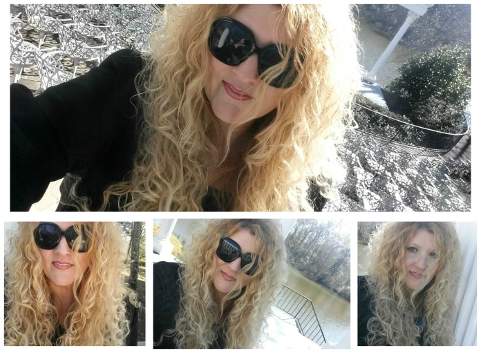 Michelle Jester Selfies January 2016 blog collage