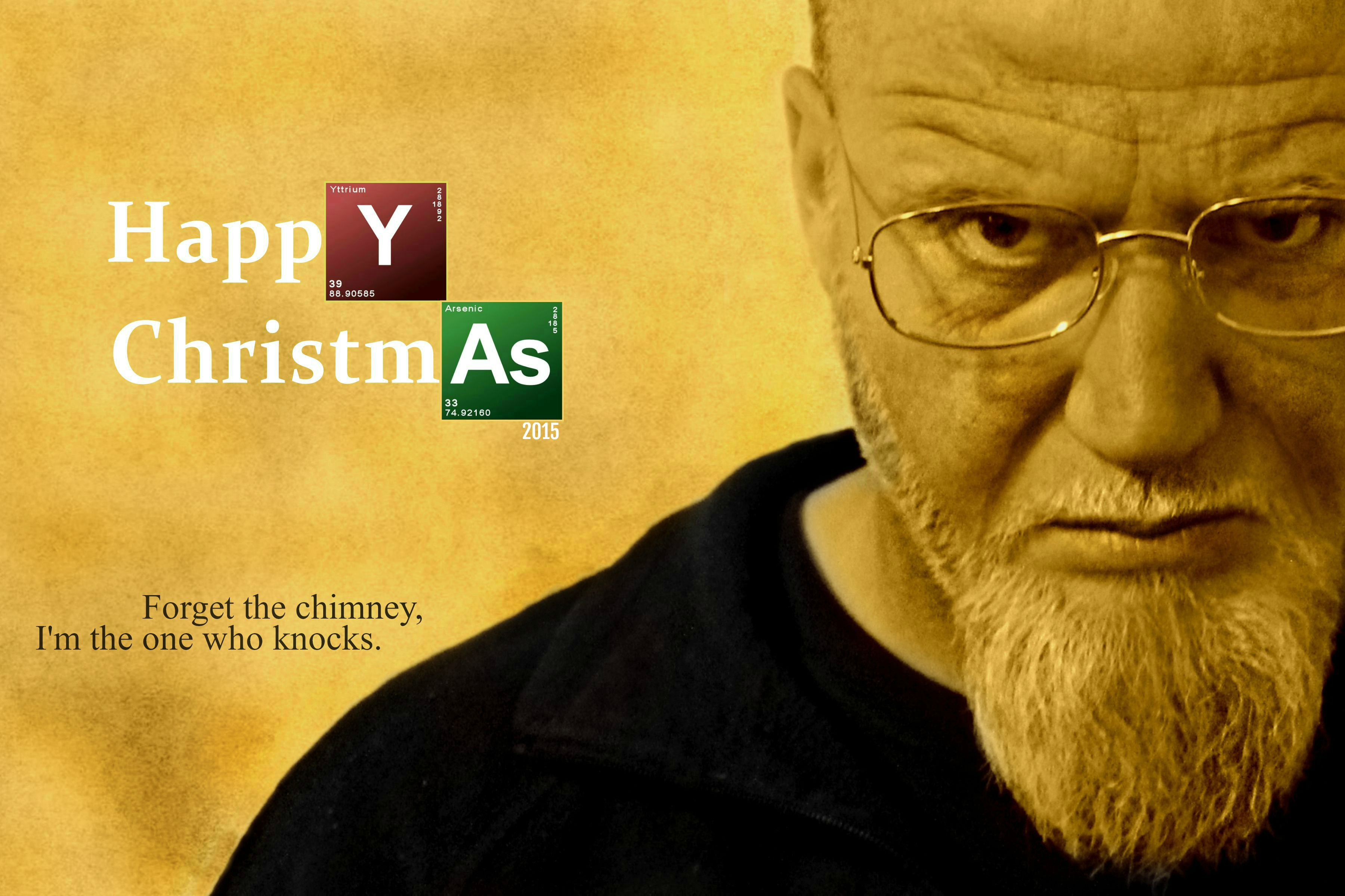 2015 Christmas Card Larry Breaking Bad